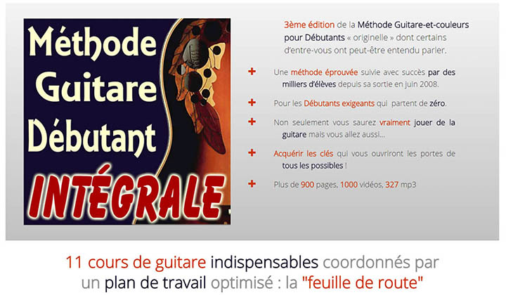 methode guitare debutant integrale