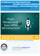 Internet-WP EXPLOSION plugin profits affiliation
